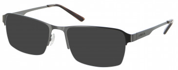 Animal ANIS014 Sunglasses in Shiny Dark Grey