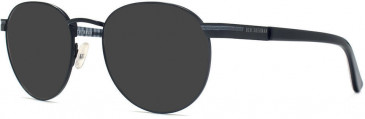 Ben Sherman BENO014 sunglasses in Matt Black