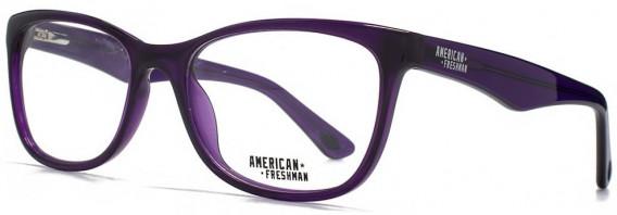 American Freshman AMFO005 Glasses in Crystal Purple