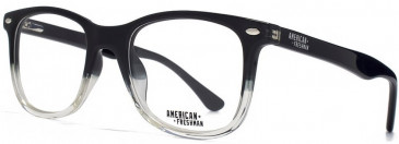 American Freshman AMFO006 glasses in Black/Clear
