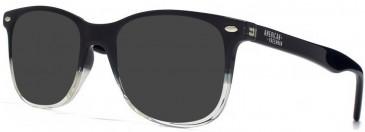 American Freshman AMFO006 sunglasses in Black/Clear