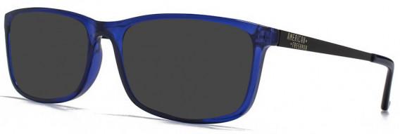 American Freshman AMFO008 sunglasses in Crystal Blue