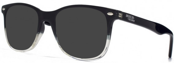 American Freshman AMFO006 sunglasses in Black/Clear