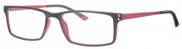 Impulse IM829 glasses in Black/Red
