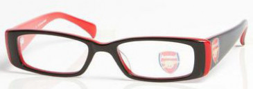 Arsenal OAR002 kids glasses in Black/Red