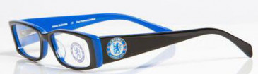 Chelsea OCH002 kids glasses in Black/Blue