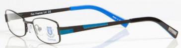 Everton OEV001 kids glasses in Black/Blue