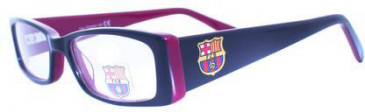 Barcelona OFCB002 kids glasses in Blue/Burgundy