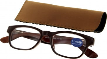 SFE 9340 Ready-made Reading Glasses in Brown