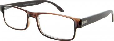 SFE 9342 Ready-made Reading Glasses in Dark Brown