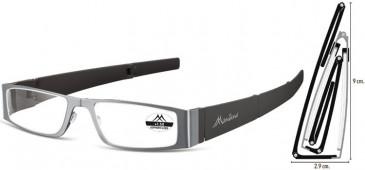 SFE Ready-Made Reading Glasses in Gunmetal/Black