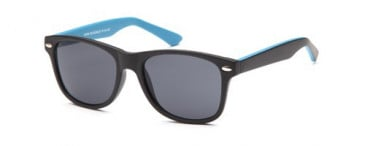 SFE-10342 kids sunglasses in Black/Blue