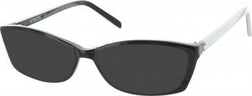 Iceberg IC256V sunglasses in Black/White