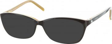 Iceberg IC258V sunglasses in Black/Orange