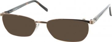 Iceberg IC259V sunglasses in Bronze