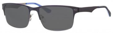 Ferrucci Solaire FS573 sunglasses in Navy/Gunmetal