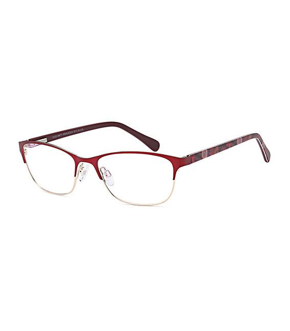 SFE-10367 glasses in Matt Wine/Gold