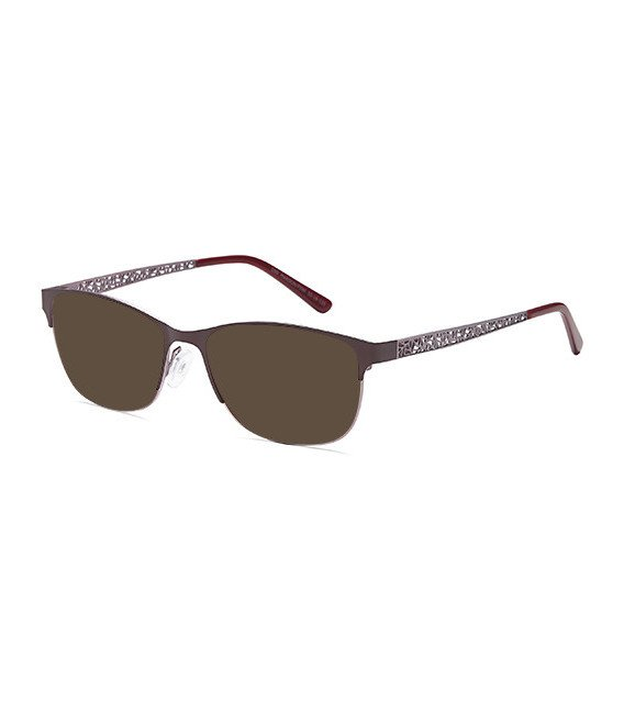SFE-10366 sunglasses in Maroon/Pink