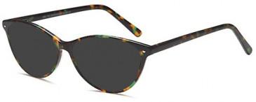 SFE-10415 sunglasses in Green/ Demi