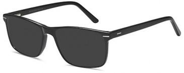 SFE-10419 sunglasses in Black