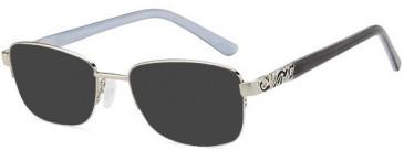 SFE-10444 sunglasses in Silver