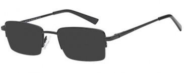 SFE-10452 sunglasses in Black