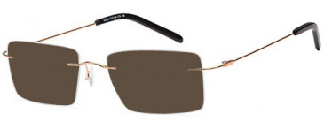 SFE-10432 sunglasses in Gold