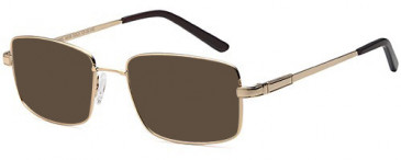 SFE-10433 sunglasses in Gold