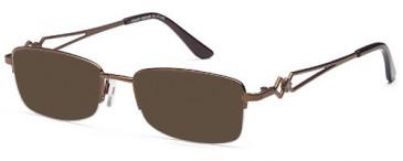 SFE-10437 sunglasses in Bronze