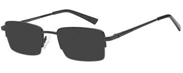 SFE-10452 sunglasses in Black