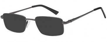 SFE-10453 sunglasses in Gun Metal