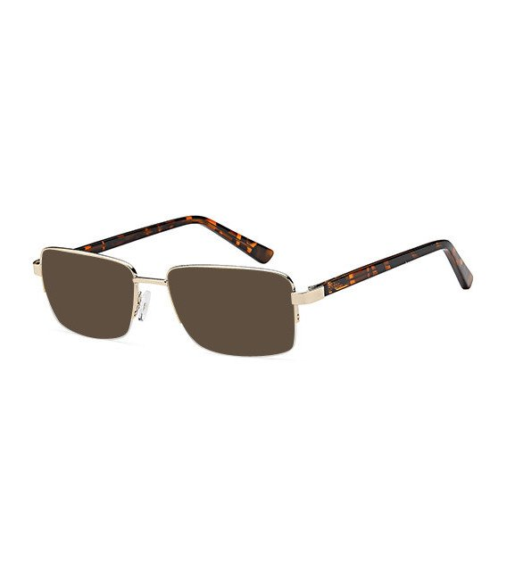 SFE-10458 sunglasses in Gold