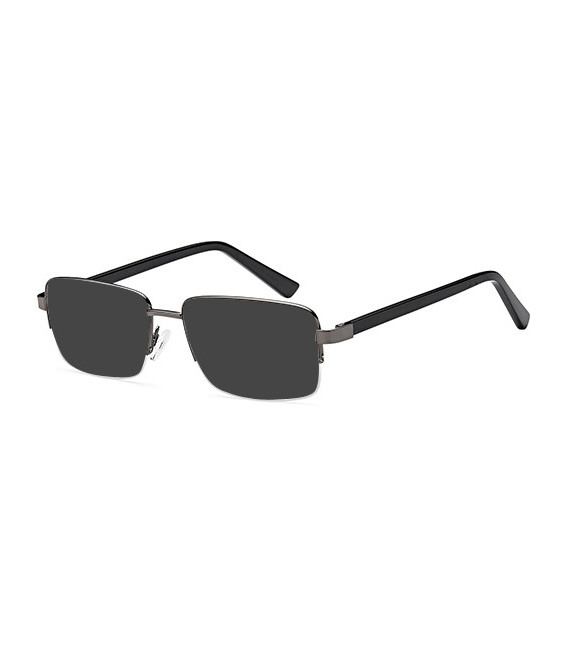 SFE-10458 sunglasses in Gun Metal