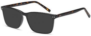 SFE-10465 sunglasses in Black