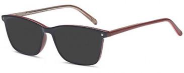 SFE-10467 sunglasses in Blue/Red