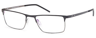 Sakuru SAK356 glasses in Black/Gun Metal
