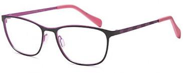 Sakuru SAK376 glasses in Black/Pink