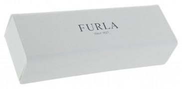 Furla Rectangle Glasses Case in White