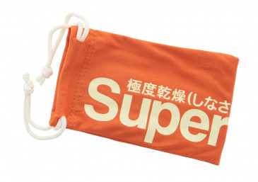 Superdry Small Glasses Pouch in Orange