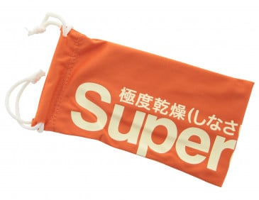 Superdry Large Glasses Pouch in Orange
