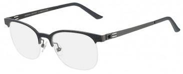 Prodesign Denmark PD6151 glasses in Black Medium Matt