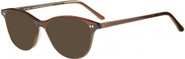 Prodesign Denmark PD4748 sunglasses in Brown Dark Transparent