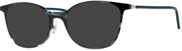 Prodesign Denmark PD4769 sunglasses in Bluish Black Medium Shiny