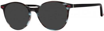 Prodesign Denmark PD3604 sunglasses in Bluish Black Dark Demi