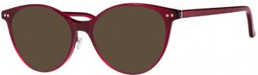 Prodesign Denmark PD3605 sunglasses in Burgundy Dark Shiny