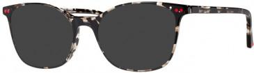 Prodesign Denmark PD3607 sunglasses in Black Dark Medium Shiny