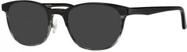 Prodesign Denmark PD3608 sunglasses in Black Dark Shiny