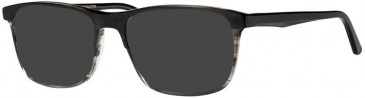 Prodesign Denmark PD3609 sunglasses in Black Dark Shiny