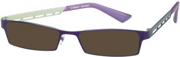 Prodesign Denmark PD4118 sunglasses in Lilac Dark Matt