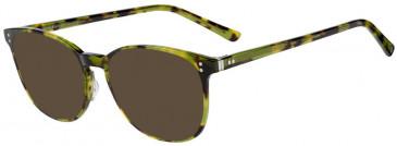 Prodesign Denmark PD4732 sunglasses in Green Dark Demi